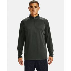 Under Armour Men's UA Tech 2.0 1/2 Zip - Baroque Green/Black