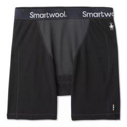Smartwool Men's Merino Sport 250 Wind Boxer Brief - Black