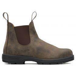 Blundstone Men's Classic 585 Chelsea Boot - Rustic Brown