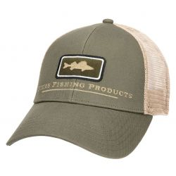 Simms Walleye Icon Trucker Hat - Olive