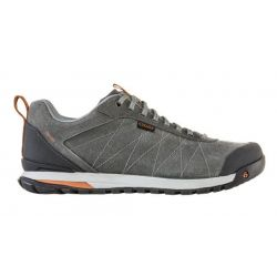 Oboz Bozeman Low Leather Hiker - Charcoal