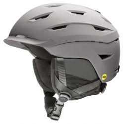 Smith Men's Level MIPS Snow Helmet - Matte Cloudgrey