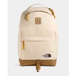 North Face Daypack Backpack - Bleached Sand Dark Heather/Utility Brown