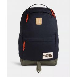 North Face Daypack Backpack - Aviator Navy Light Heather/New Taupe Green