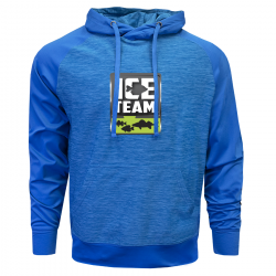 Clam Ice Team Performance Hoodie - Blue