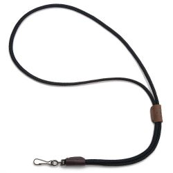 Mendota Products Whistle Lanyard Single - Black