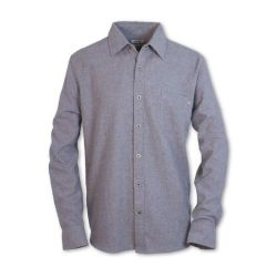 Denton Heathered Flannel - Grey
