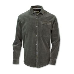 Purnell Corduroy Shirt Jkt - Olive
