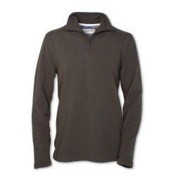 Half Zip Monarch Flc Pullover - Forest