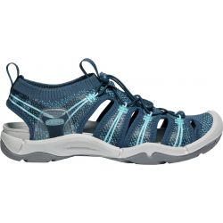 Keen Women's Evofit One Sandal - Navy / Bright Blue