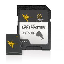Humminbird LakeMaster Maps Card - Ontario V2