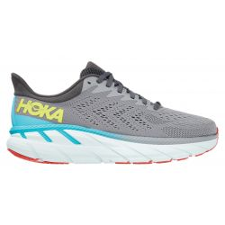 Hoka One One Men's Clifton 7 Running Shoes - Wild Dove/Dark Shadow