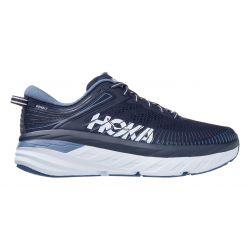 Hoka One One Men's Bondi 7 Running Shoes - Ombre Blue/Provincial Blue