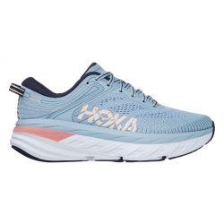 Hoka One One Women's Bondi 7 Running Shoes - Blue Fog/Ombre Blue