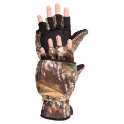 Women's Bow Hunter Convertible Hunting Gloves - Realtree Xtra