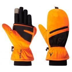 Hot Shot Huntsman Pop Top Mitten - Blaze Orange