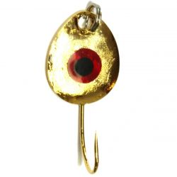 Jb Lures Gem-N-Eye Jig #6 - Gold