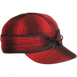 Stormy Kromer The Original Stormy Kromer Cap - Red/Black Plaid