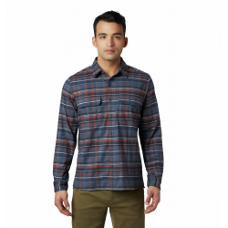 Men's Voyager One Long Sleeve Shirt - Graphite