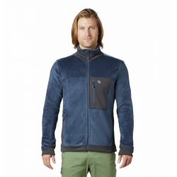 Men's Monkey Fleece Jacket - Zinc
