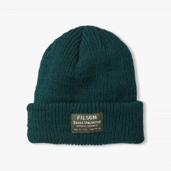 Filson Watch Cap-ducks Unlimited - Dark Spruce