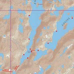 Mckenzie Prod McKenzie Map 27 Agnes & Kahshahpiwi Lakes Map