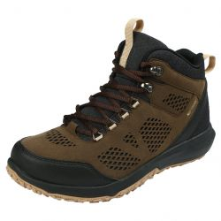 Northside Men's Benton Mid Waterproof Hiking Boot - Brown/Black