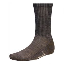 Smartwool Men's Heathered Rib Medium Crew Socks - Chestnut