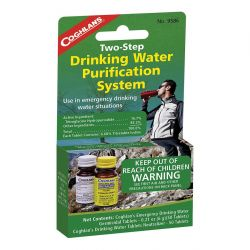 Coghlans Two-Step Drinking Water Treatment