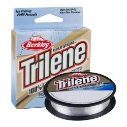 Berkley Trilene 100% Fluorocarbon Ice Clear 75yds - 3 lb