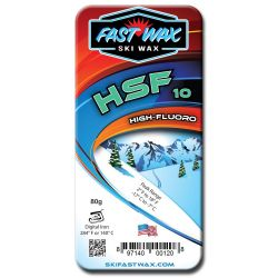 HSF 10 High Fluoro Wax - 80g
