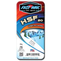 Fast Wax HSF 20 High Fluoro Wax - 80g
