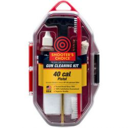 .40cal Pistol Gun Cleaning Kit