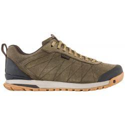 Oboz Men's Bozeman Low Leather Hiking Shoes - Canteen