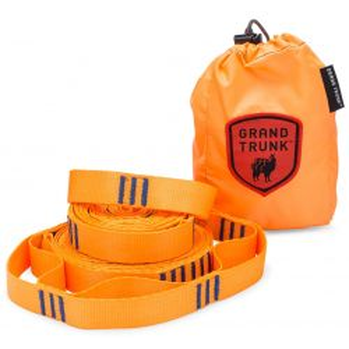 Grand Trunk Trunk Straps Hammock Suspension Straps - Orange