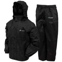 Frogg Toggs All Purpose Rain Suit - Black