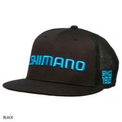 Shimano Flatbill Cap - Black