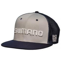 Shimano Flatbill Cap - Navy