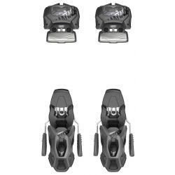 Head Attack 11 GW Ski Bindings 90 mm - Solid Black