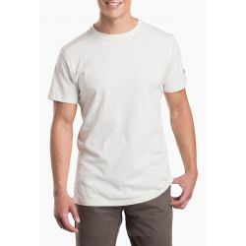 Kuhl Men's Bravado Short Sleeve Shirt - White