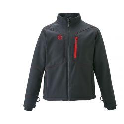 Striker Brands Men's Climate G2 Softshell Jacket - Black