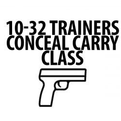 Advanced Conceal Carry Class - 10/23/2021 (11am-5pm)