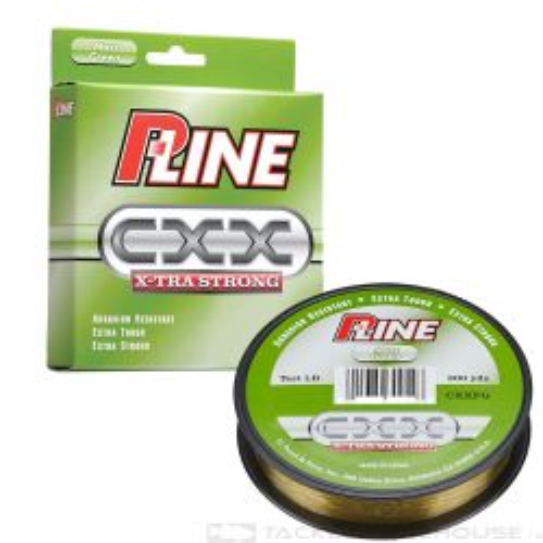 P-line CXX Copolymer Line Moss Green 300 Yds - 4 Lb