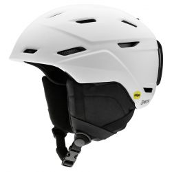 Smith Men's Mission MIPS Snow Helmet Large - Matte White
