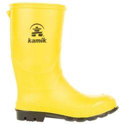 Kamik Youth Stomp Rain Boots - Yellow