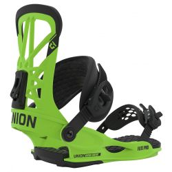 Flite Pro Snowboard Bindings Large Acid Green - 2020