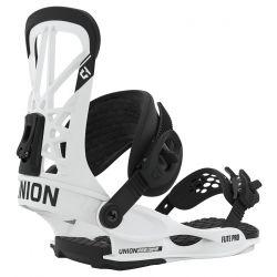 Flite Pro Snowboard Bindings Small White - 2020