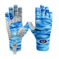 Sunbandit Pro Series Gloves - Blue Water