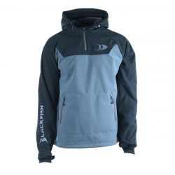 Blackfish Gale Softshell Pullover - Charcoal/Black