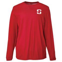 Striker Brands Graveyard Long Sleeve Shirt - Red